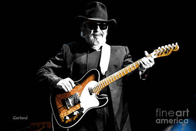 Merle Haggard At Indio, California Art Print