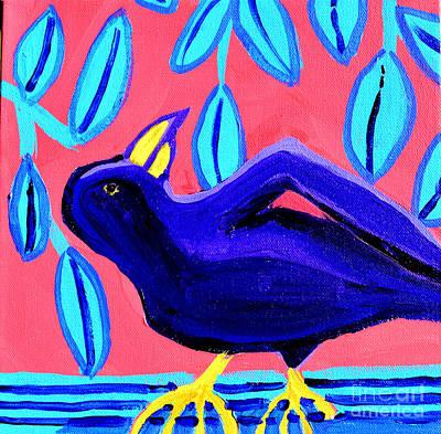 Painting - Merle Noir by Debra Bretton Robinson