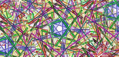 Michael C Geraghty Digital Art - Merlins Nuclear Transmutation -   Amcg20160804 by Michael Geraghty