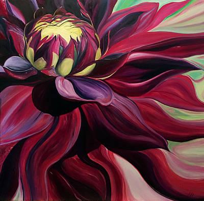 Painting - Merlot Madness by Karen Hurst