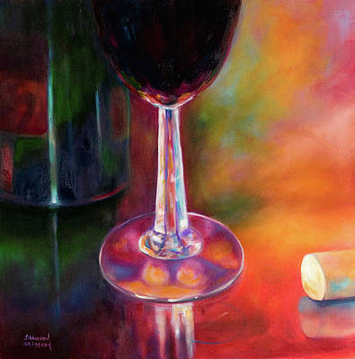 Painting - Merlot by Shannon Grissom