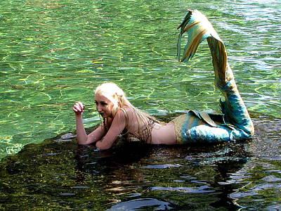Photograph - Mermaid 000 by Chris Mercer