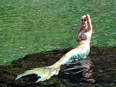 Photograph - Mermaid 003  by Chris Mercer
