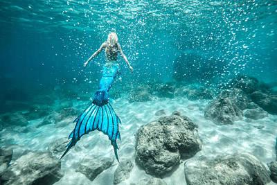 Mermaid Photograph - Mermaid Blues  by Leonardo Dale