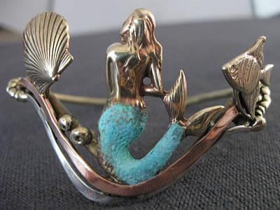 Copper Bracelet Jewelry - Mermaid Bracelet by Connie Colten