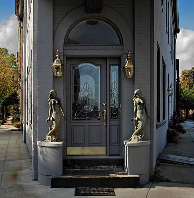 Fells Point Photograph - Mermaid Doorway by Murray Bloom