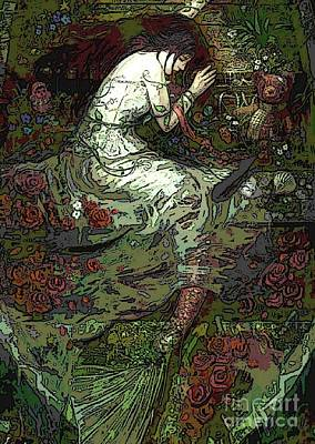 Digital Art - Mermaid Fantasy Art by Valarie Pacheco