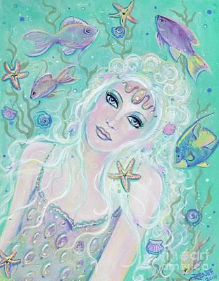 Fish Underwater Painting - Mermaid Frosting by Renee Lavoie