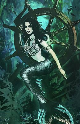 Digital Art - Mermaid by Jason Casteel
