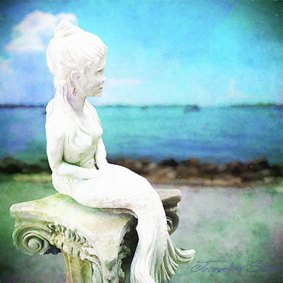 Digital Art - Mermaid Lisa by Jacqueline Sleter