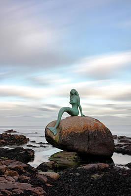 Of Mermaids Photograph - Mermaid Of The North by Grant Glendinning