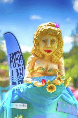 Photograph - Mermaid Parade by John Haldane