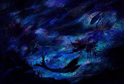 Mermaid Art Print by Rachel Christine Nowicki