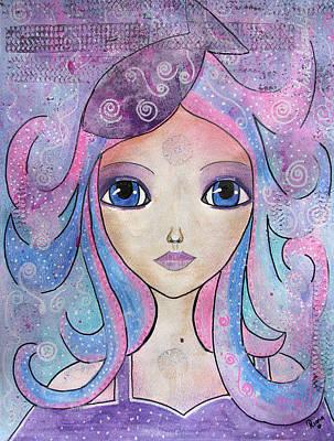 Drawing - Mermaid  by Riana Van Staden