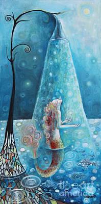 Mermaid Shower Original by Manami Lingerfelt