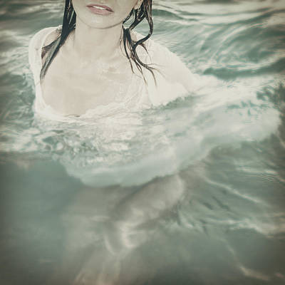 Floods Photograph - Mermaid by Stelios Kleanthous