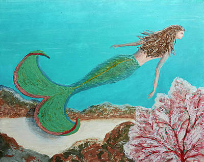 Painting - Mermaid Swoosh by Patricia Beebe