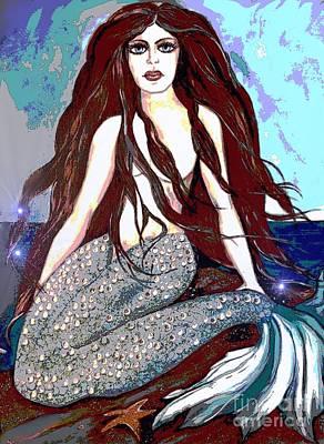 Painting - Mermaid by Valarie Pacheco