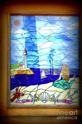 Photograph - Mermaid Window  by Susan Garren