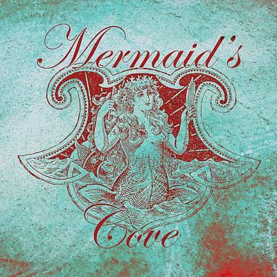 Digital Art - Mermaid's Cove by Brandi Fitzgerald