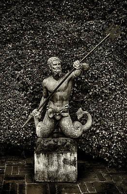 Photograph - Merman Statue by Joseph Hollingsworth