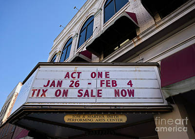 Photograph - Meroney Marquee C by Patrick M Lynch