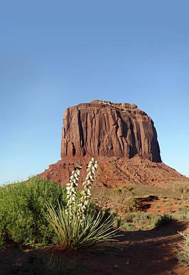 Phoenix Flowers Photograph - Merrick Butte, Monument Valley by Gordon Beck