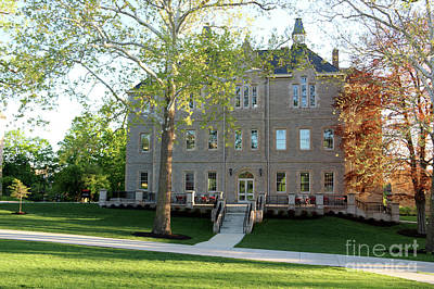 Photograph - Merrick Hall Ohio Wesleyan University 0857 by Jack Schultz