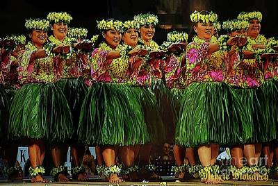 Photograph - Merrie Monarch 2017 by Craig Wood