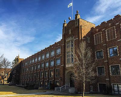 Photograph - Merrifield Hall At The University Of North Dakota by Tom Gort