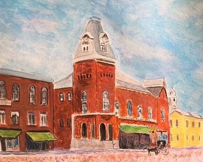 Painting - Merrimac Massachusetts by Anne Sands