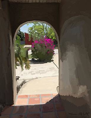 Painting - Merritt Island Doorway by Melissa Abbott