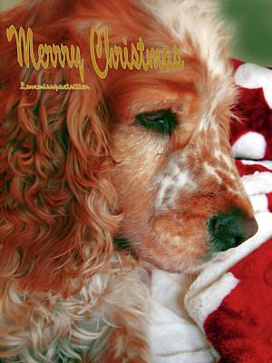 Merry Christmas Art 29 Art Print