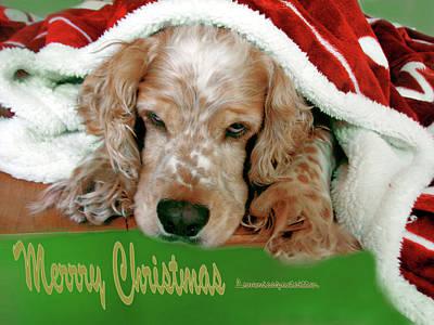Merry Christmas Art 32 Art Print