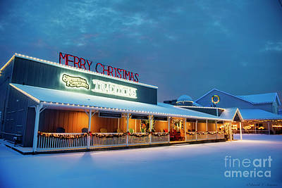 Photograph - Merry Christmas At Shipshewana Furniture Traditions by David Arment