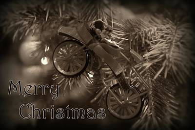 Photograph - Merry Christmas Card 1 by Angie Tirado