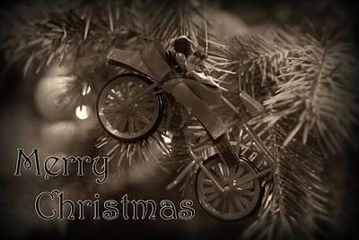 Photograph - Merry Christmas Card 1 by Angie Tirado