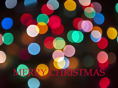 Photograph - Merry Christmas Card 3 by Glenn Gordon