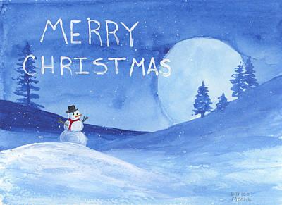 Painting - Merry Christmas by Darice Machel McGuire
