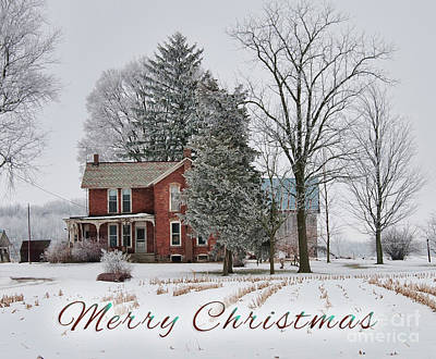Photograph - Merry Christmas by David Arment