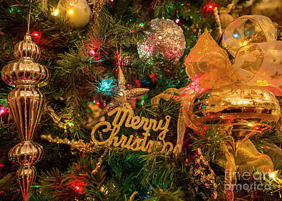 Photograph - Merry Christmas by Dennis Hedberg