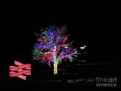 Photograph - Merry Christmas Friends by Kelly Awad