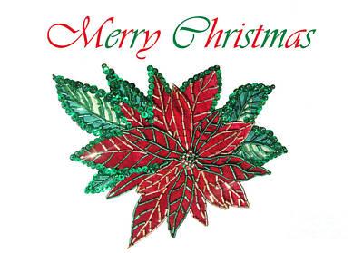 Merry Christmas - Image 01 Art Print