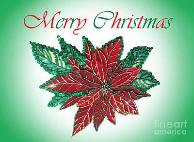 Merry Christmas - Image 02 Art Print
