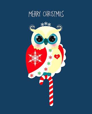 Christmas Digital Art - Merry Christmas by Isabel Salvador