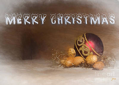 Digital Art - Merry Christmas by Jim Hatch