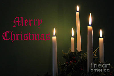 Photograph - Merry Christmas by Karen Adams