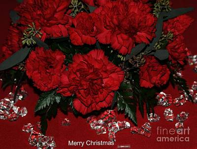 Merry Christmas Art Print by Kathleen Struckle