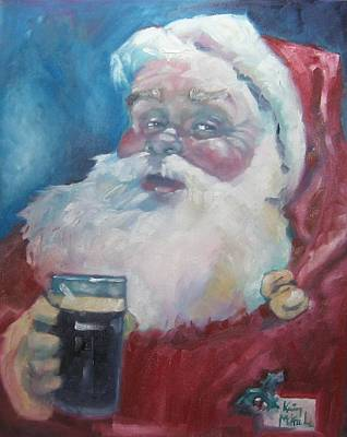 Painting - Merry Christmas by Kevin McKrell