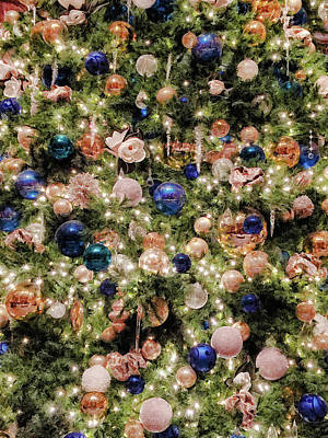 Photograph - Merry Christmas Lights And Balls by Bonnie Follett